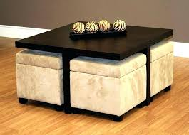 pull out coffee table pull out ottoman coffee table with storage ottomans underneath table