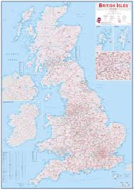 map uk isles wall map shop buy from maps international
