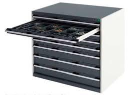 cassetti metallo armadio di stoccaggio da terra a cassetti in metallo 1 050