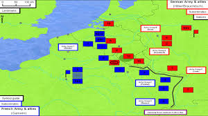 French Map Battle Of France 1940 U2013 The Art Of Battle