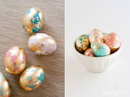 gold easter eggs a step by step guide to instagram worthy gold leaf easter eggs