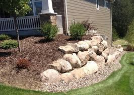 landscape boulders installation in anoka u0026 surrounding areas