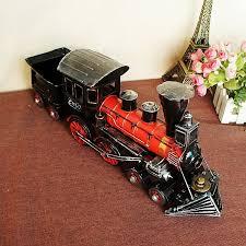 handmade retro iron 1829 steam model ornaments vintage metal
