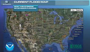 Virginia Flood Map by Warm Weather Enhancing Flood Concerns Weathernation
