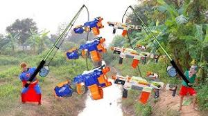 superman fishing crane spiderman learn color excavator toys