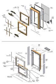 Window Framing Diagram Exterior Window Frame Parts Window Parts Diagrams Exterior