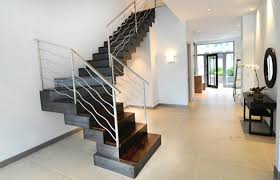 Modern Stair Banister Staircase Railing Designs Attractive Staircase Railing Design
