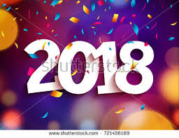 happy new year backdrop happy new year 2018 background decoration stock vector 721456189