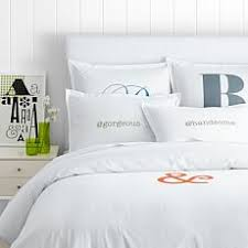 Personalized Comforter Set Monogrammed Bedding Mark And Graham