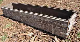 Large Planter Box by Diy Rustic Wood Planter Box Make Life Lovely