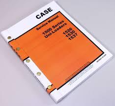 case 1500 series 1526 1530 1537 uni loader skid steer service