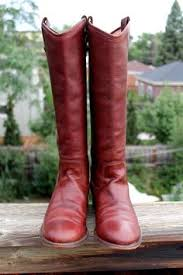 womens cowboy boots size 9 1 2 vtg leather justin womens cowboy boots size 8 1 2 a by taite