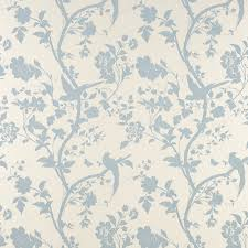 Wallpaper For Home by Oriental Garden Duck Egg Floral Wallpaper Again Laura Ashley
