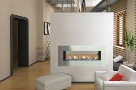 Indoor Outdoor Wood Fireplace Double Sided - likeness of double sided gas fireplace warmer unique room