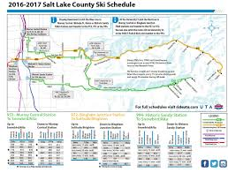 Map Of Utah Parks by Uta Ski Bus Routes For Salt Lake City Park City Ogden And
