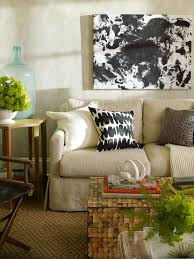 Lauren Liess Interiors Lauren Liess Interiors Living Rooms Mottled Gray Walls Gray