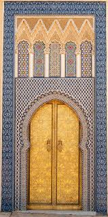 Mirs Rugs Africa 14th Century Door To One Of The King U0027s Palaces Fez