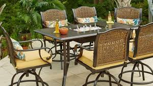 Patio High Dining Set Bar Height Outdoor Patio Set Duluthhomeloan