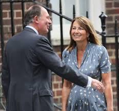 carole middleton photos photos kate middleton u0027s parents visit st