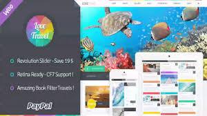 Travel Theme Love Travel Creative Travel Agency Wordpress Website Templates