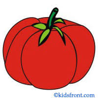 vegetables with pictures for kids