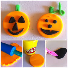teach me tuesday play doh pumpkins mine for the making