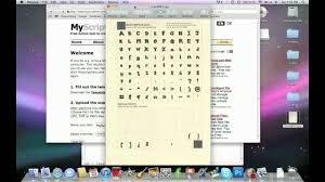 how to make your own font mac u0026 pc youtube