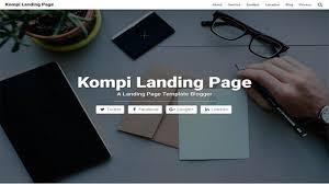 landing page templates for blogger kompi landing page btemplates