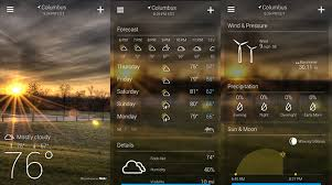 the best weather app for android best 5 free weather apps for android for you android garden
