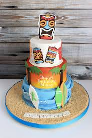 Luau Cake Decorations Luau Cake For Icing Smiles Cake By Sweets And Treats By
