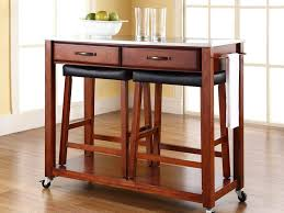 kitchen island cart with stools portable kitchen island with stools cart gallery pictures