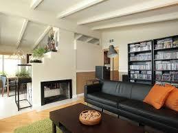 modern living room with hardwood floors u0026 chair rail in sunnyvale