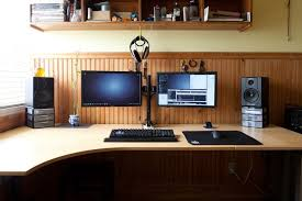best desk for dual monitors how to set up a multiple display workstation best buy blog