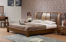 Chinese Bedroom Set Chinese Style Natural Wooden Beds Carved Furniture Antique