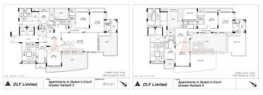 Gurdwara Floor Plan by Dlf Queens Court Greater Kailash Ii New Delhi