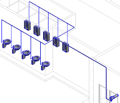 revit tutorial beginner revit mep tutorial connecting plumbing fixture to pipe route cadnotes
