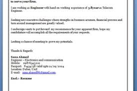 telecom cover letter telecom engineer cover letter sample