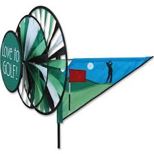 Golf Cart Flags Sporting Wind Spinners