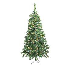 the aisle 7 5 green pine artificial tree with