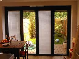 Blinds For Doors With Windows Ideas Great Sliding Patio Doors With Internal Blinds Sliding Patio Doors