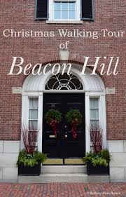 christmas walking tour of beacon hill brittany from boston