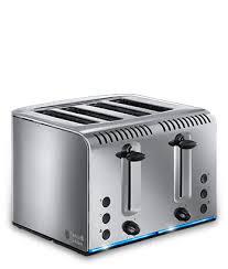 Best Four Slice Toaster Uk Buckingham Stainless Steel 4 Slice Toaster 20750 Russell Hobbs Uk