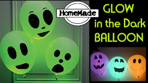 glow in the dark balloon diy halloween party ideas youtube