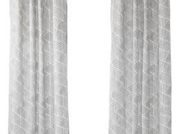 Crushed Voile Sheer Curtains by Gray Sheer Curtains Crushed Voile Sheer 84inch Window Curtain