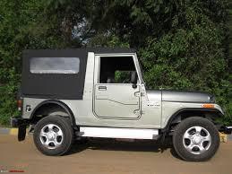 military jeep side view mahindra thar bringing it home finally team bhp