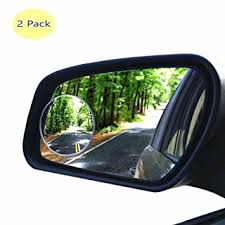 amazon com hijoy glass blind spot mirror no rim car spot vision