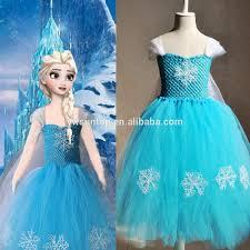 2016 frozen tutu wedding dress childrens fancy flower dress