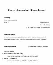 Resume For Ca Articleship Training Boost Your Career With Accountant Resume Template