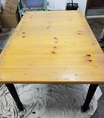 how to stain pine table turn your pine table from drab to fab howard at home