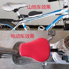 Folding Cushions Electric Bicycle Mountain Bike Bicycle Prepositioned Child Seat